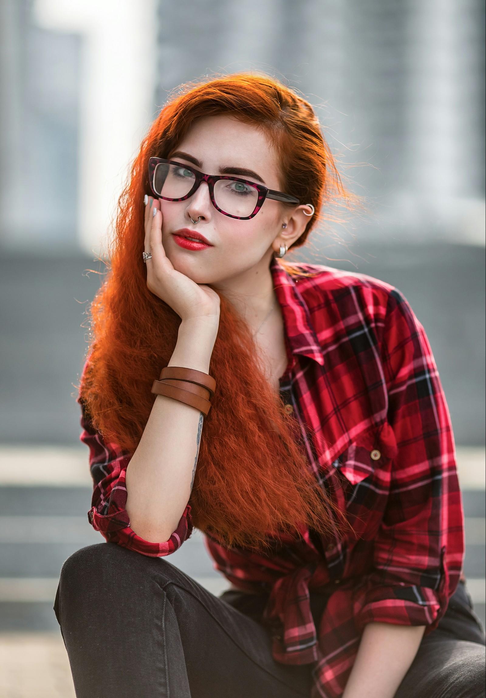 Интересные фотосессии для рыжих девушек 11