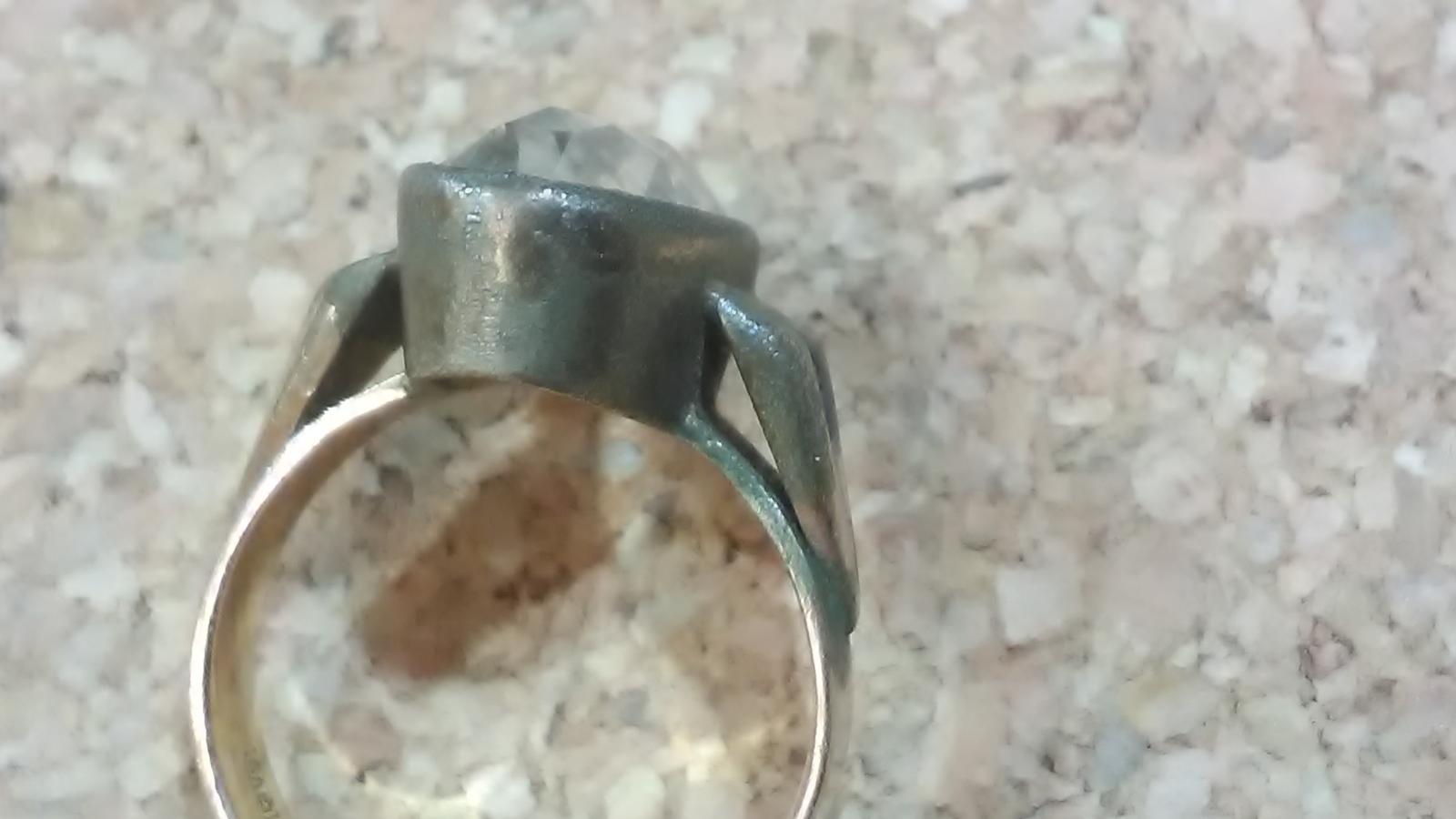 Ртуть попала на кольцо из серебра