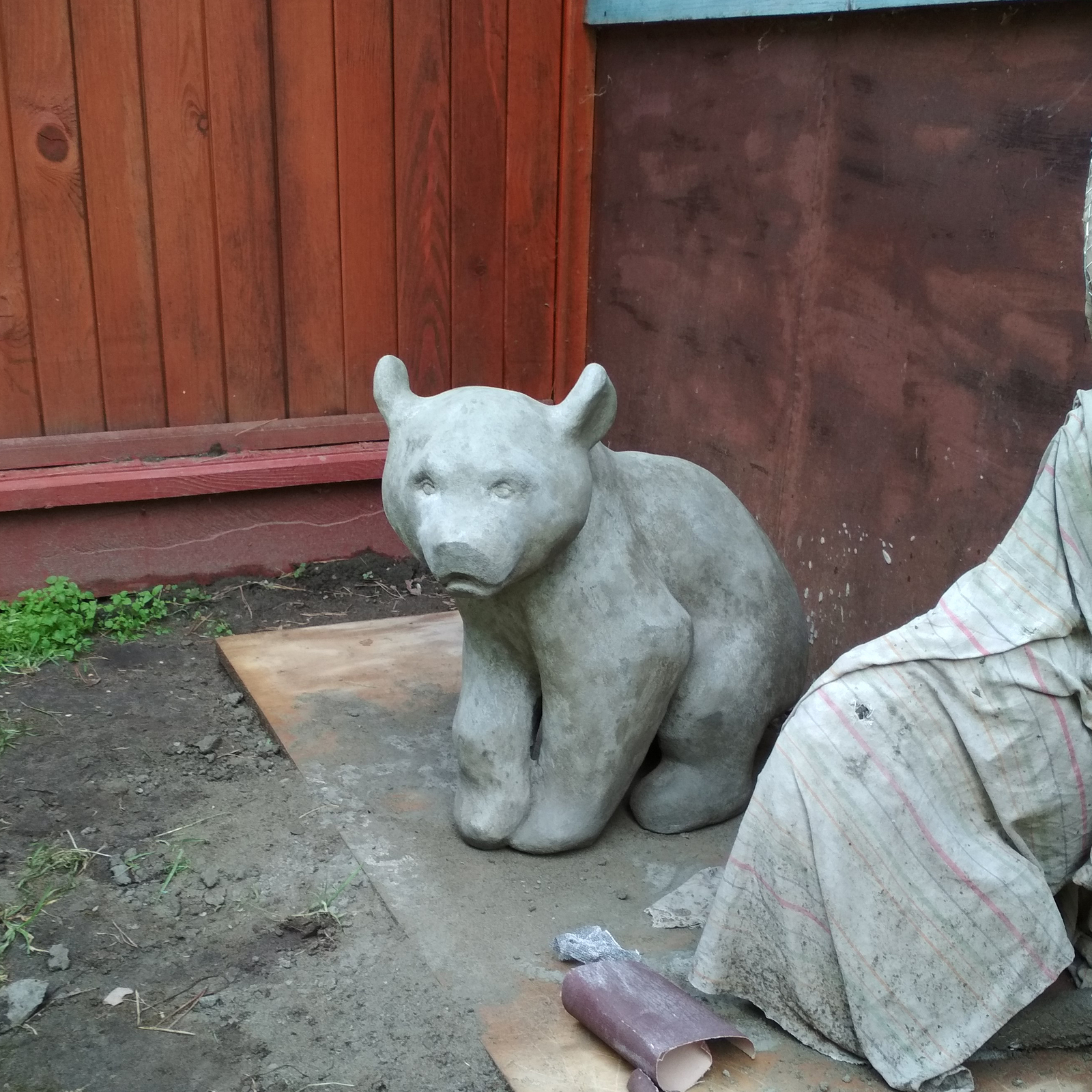 Бетон медведь 3190151 бетон