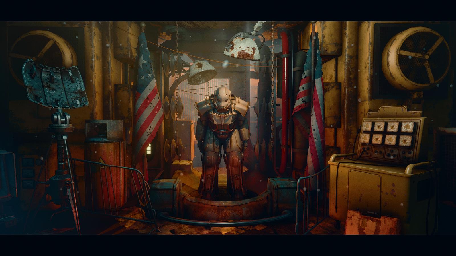 Самые лучшие и интересные моды Силовой брони для Fallout 4