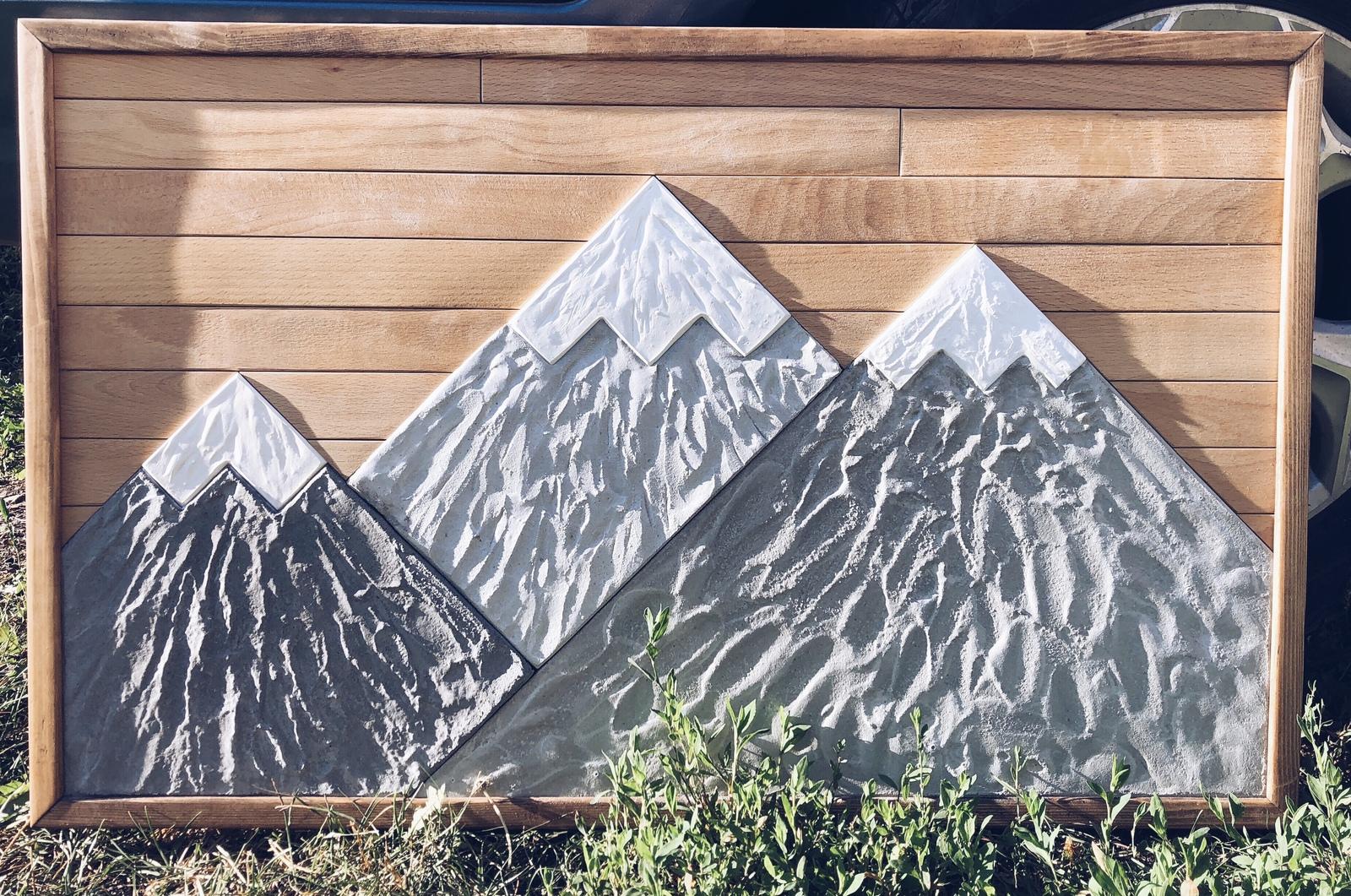 Горы из бетона заказать бетон томск