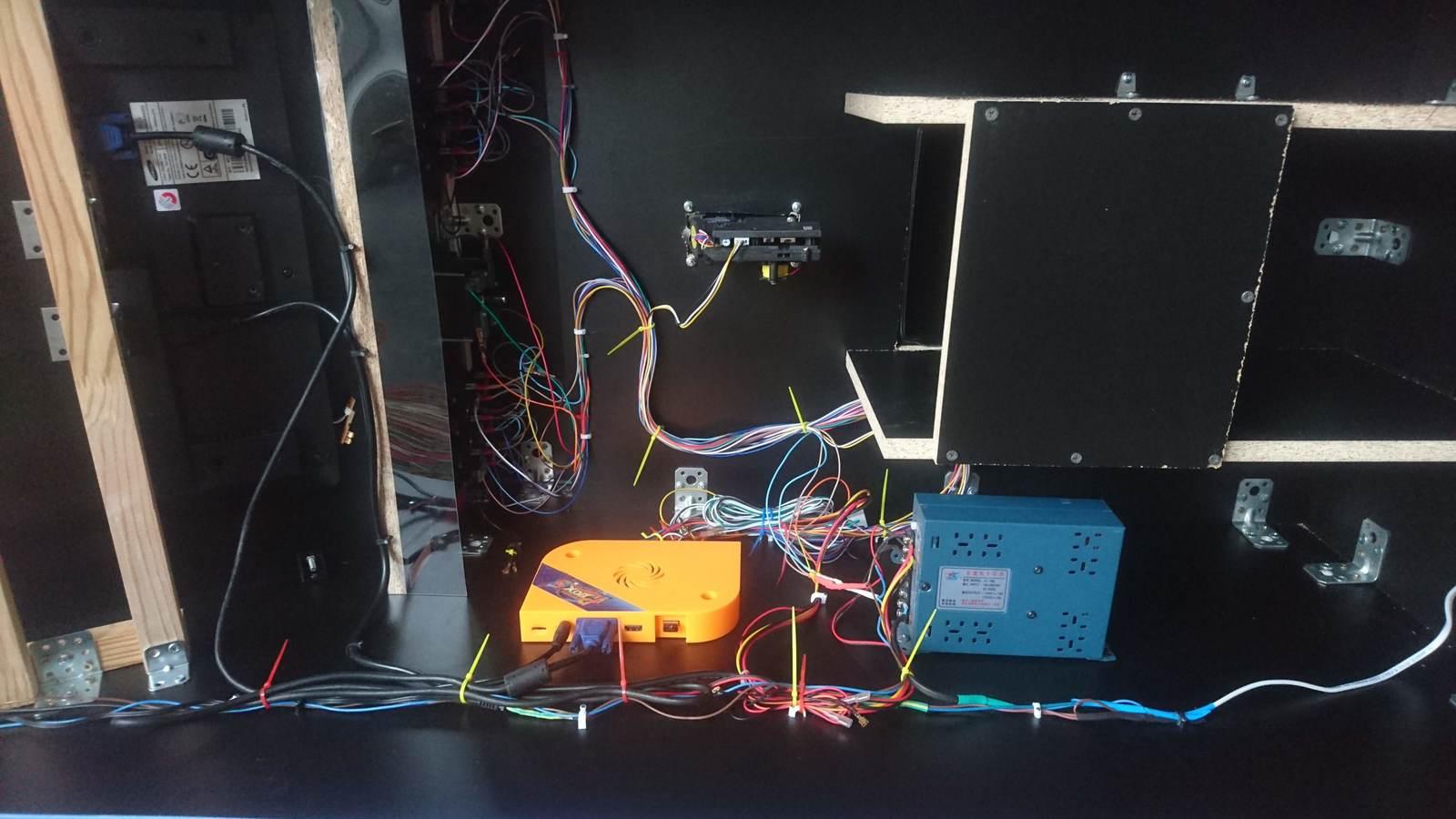 Сборка аркадного автомата мастерская