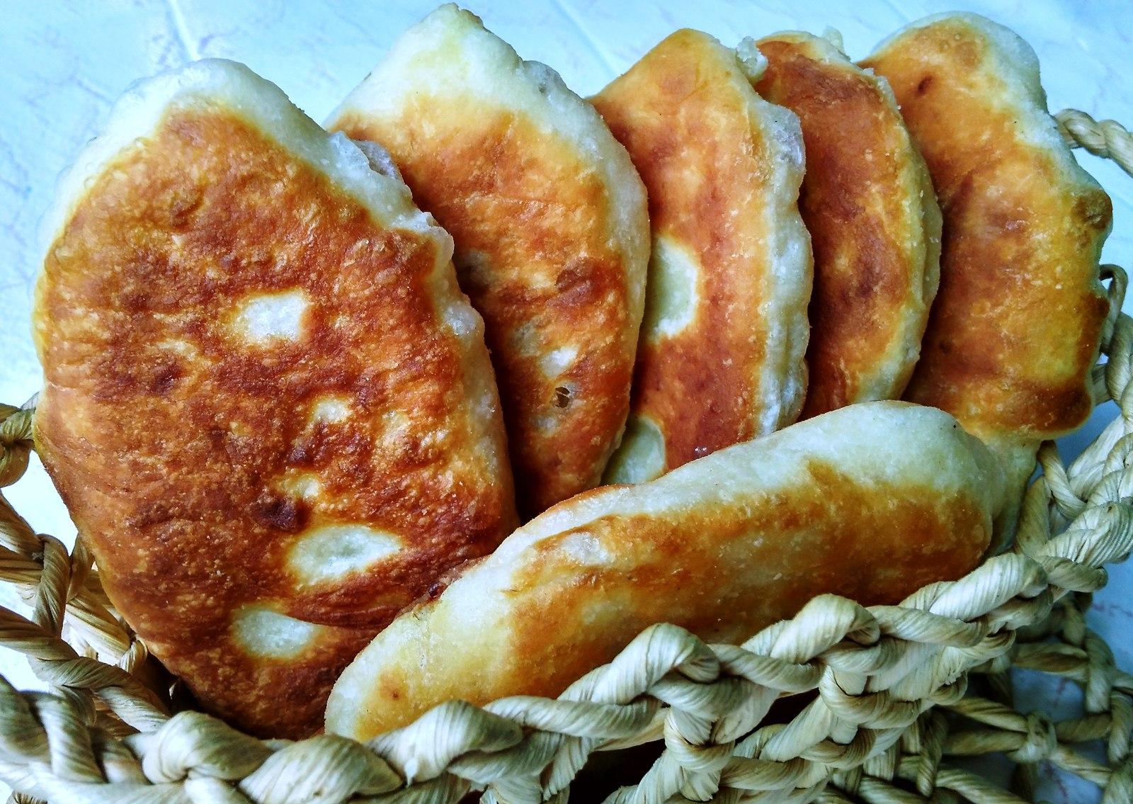 рецепт пирожков на растительном масле