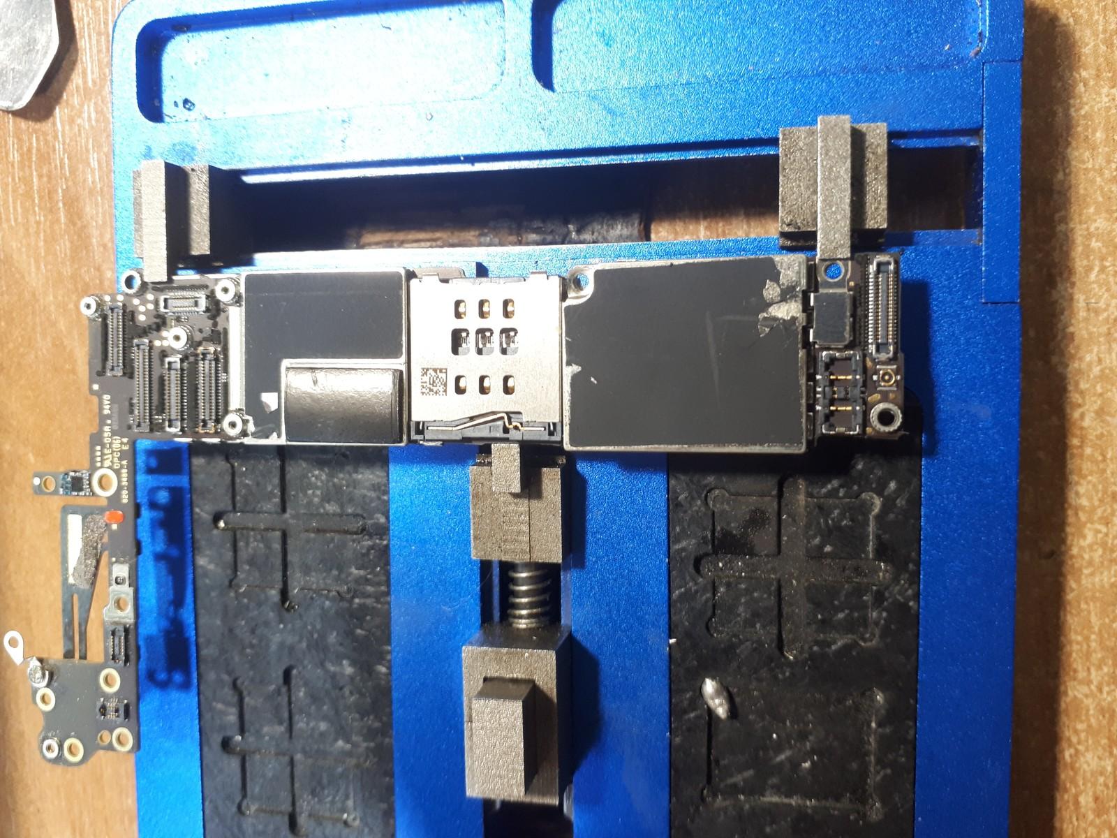 не ловит сеть айфон 4s ремонт
