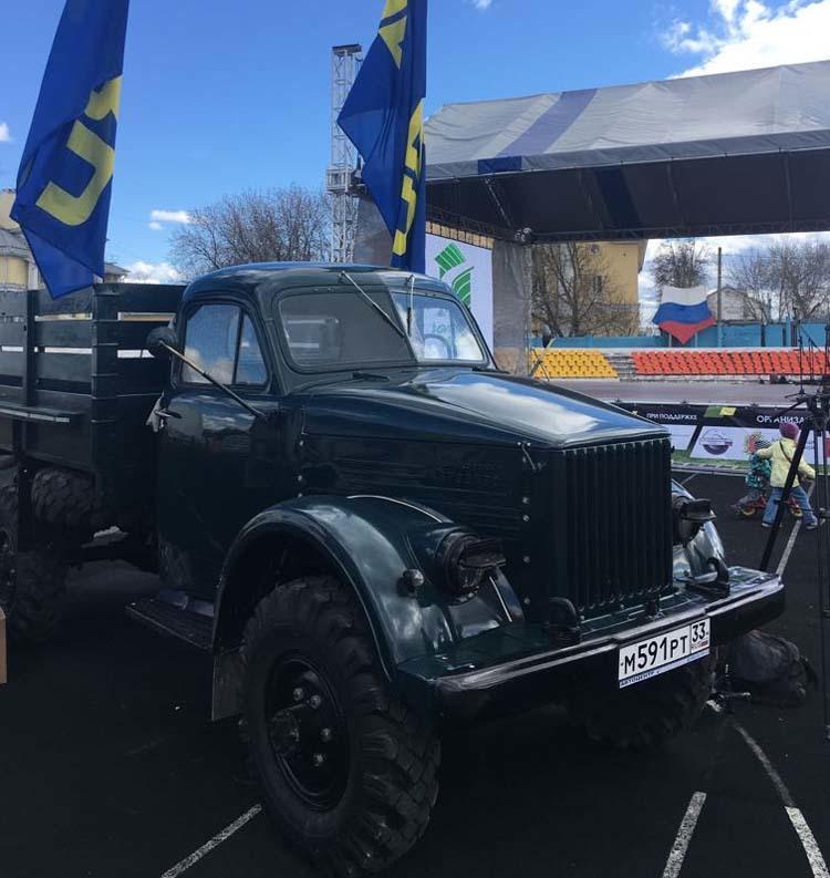 Реставрация грузовика ГАЗ-63 грузовик