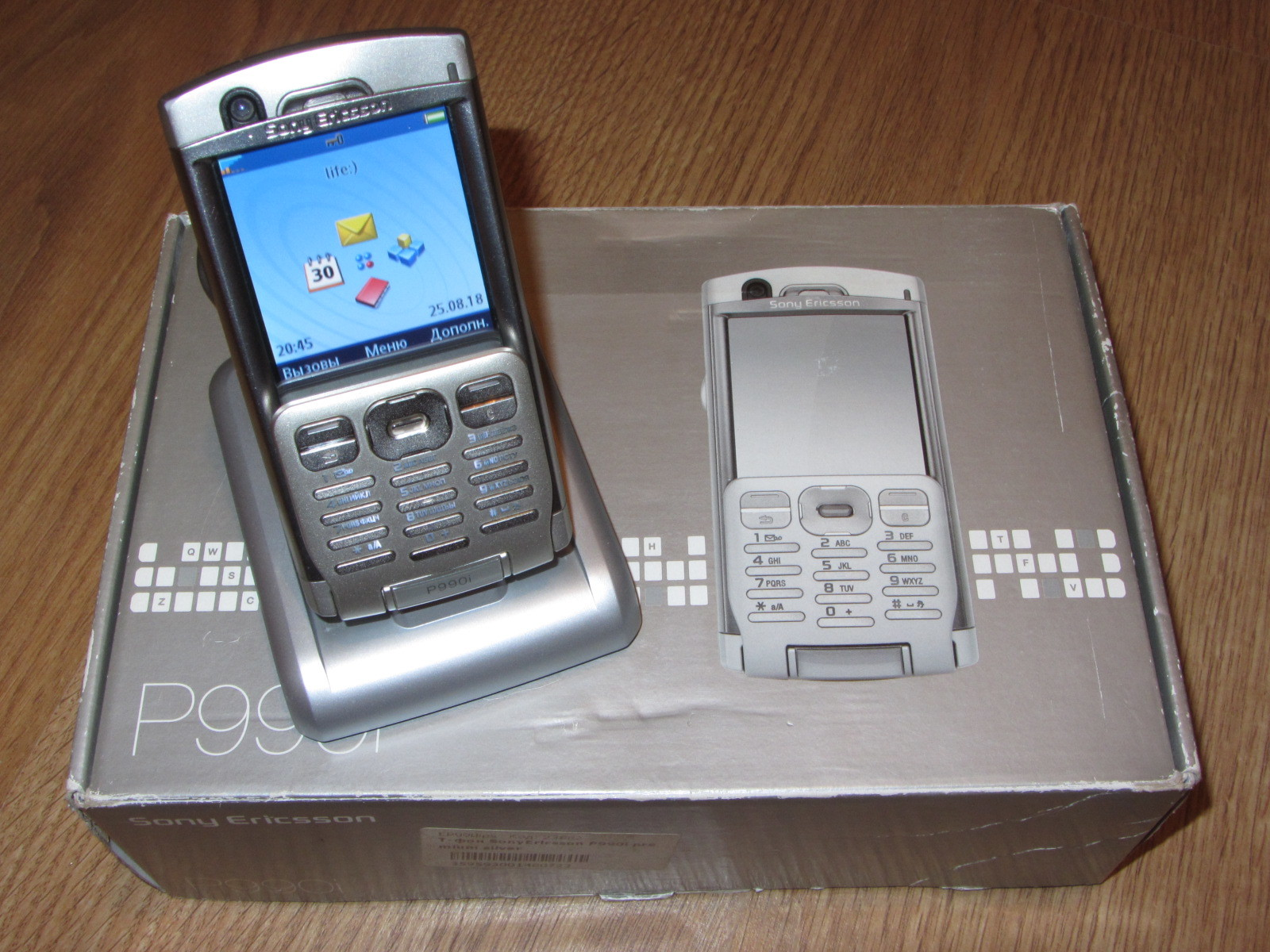 Топовый смартфон из 2005 года! Sony Ericsson P990i Symbian UIQ 3.0 6e8fdd1a7d828