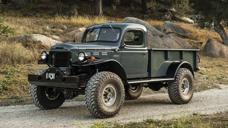 Автомобиль Legacy Dodge Power Wagon автомобиль