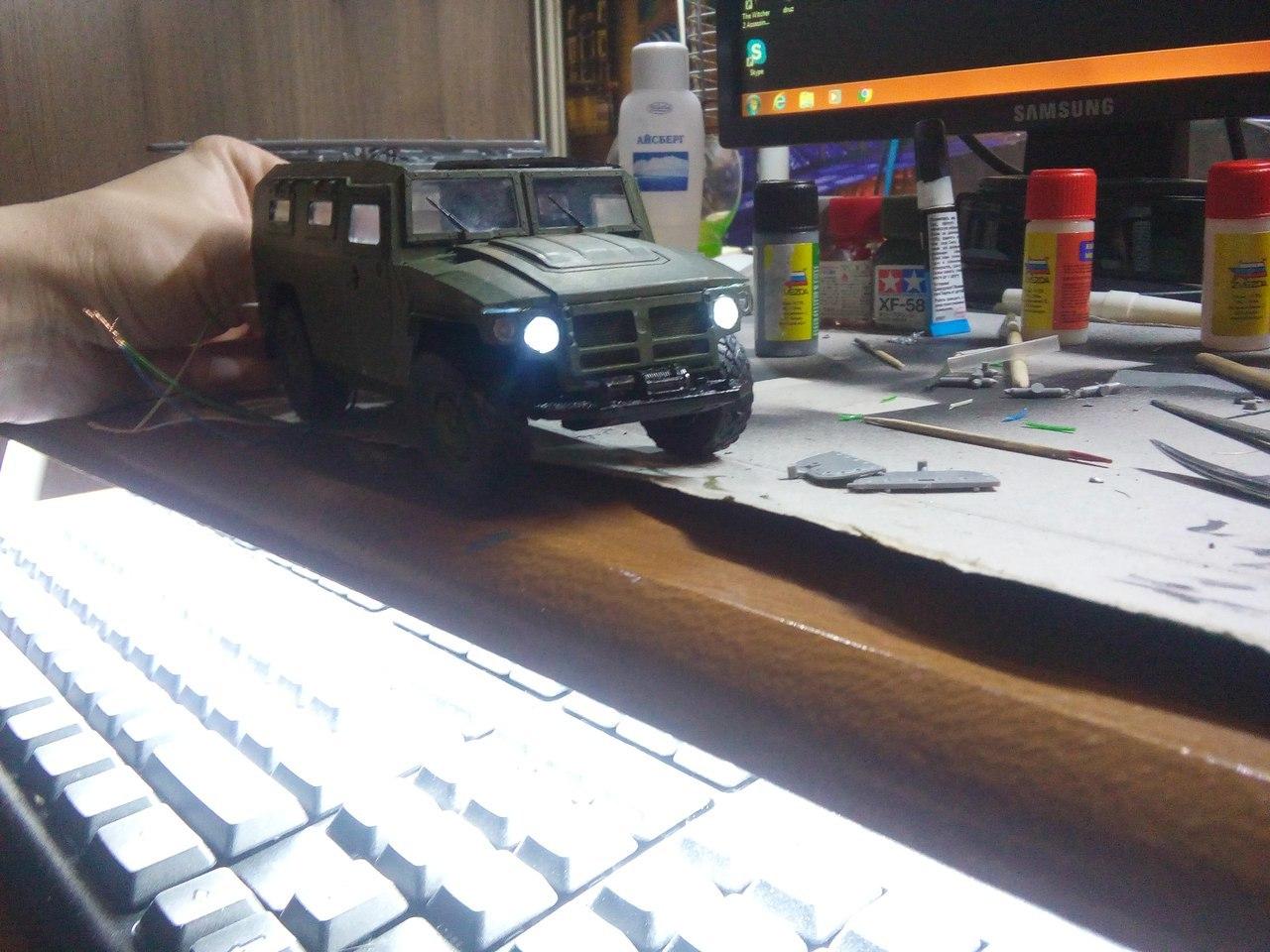 Сборка модели ГАЗ-2330