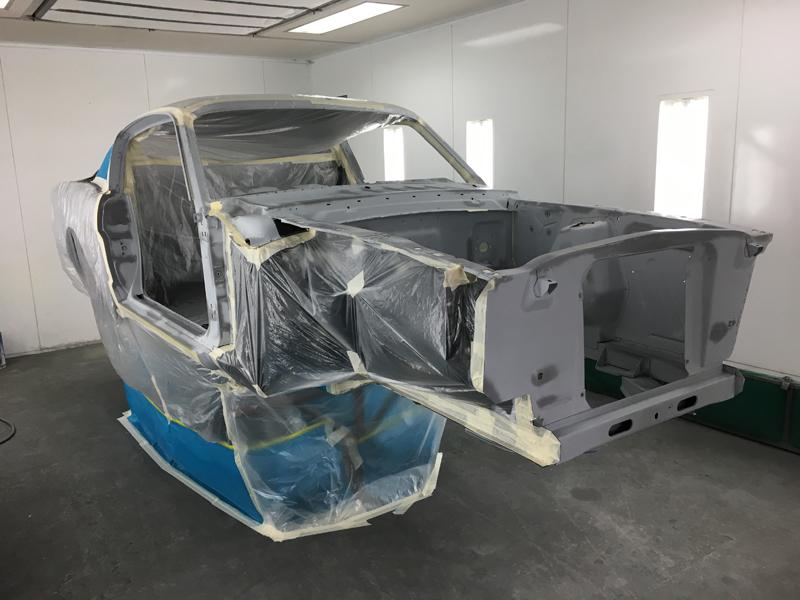 Реставрация Ford Mustang Fastback 1965 г. в. (25 фото)