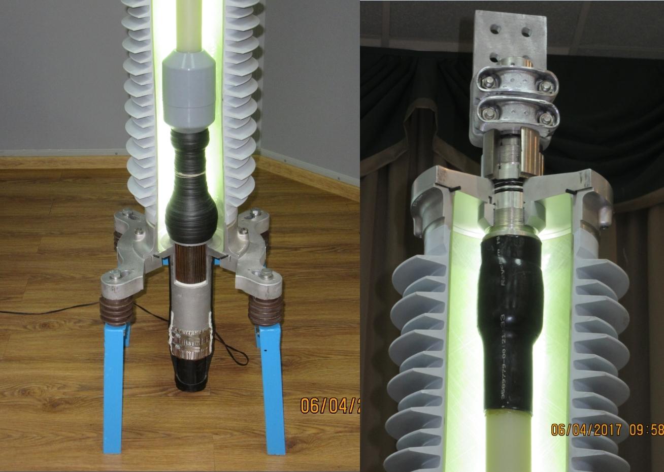 Установка кабельных муфт на кабель из сшитого полиэтилена фото 396
