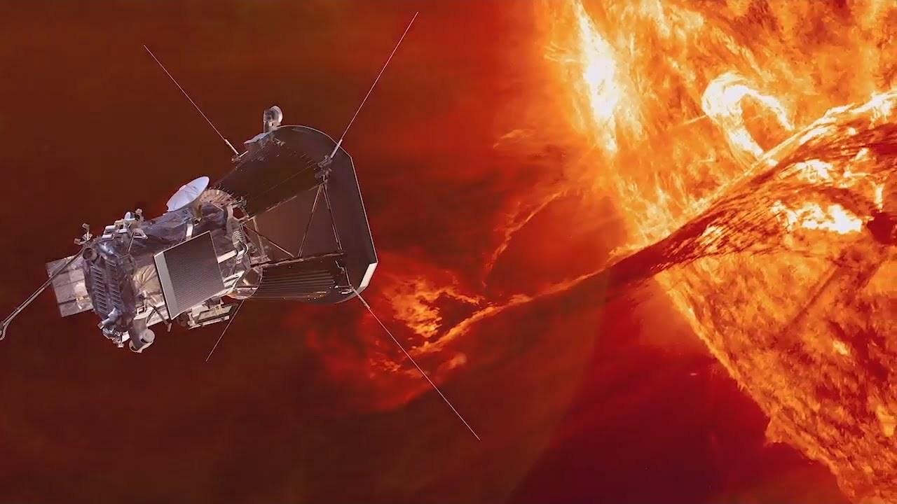 Картинки по запросу NASA объявило о первых открытиях своего солнечного зонда