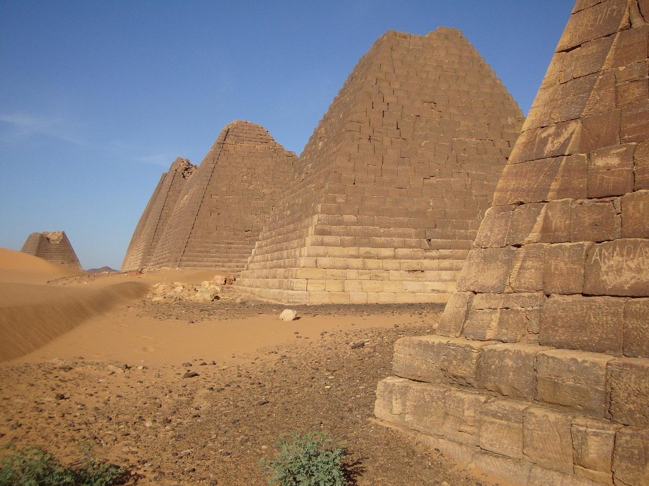 Обои гробница, иероглифы, Пирамиды, пустыня, египет. Разное foto 8
