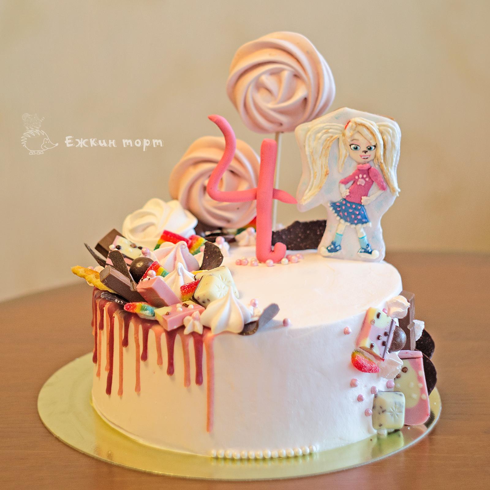 Как сделать цветные подтеки на торте фото 491