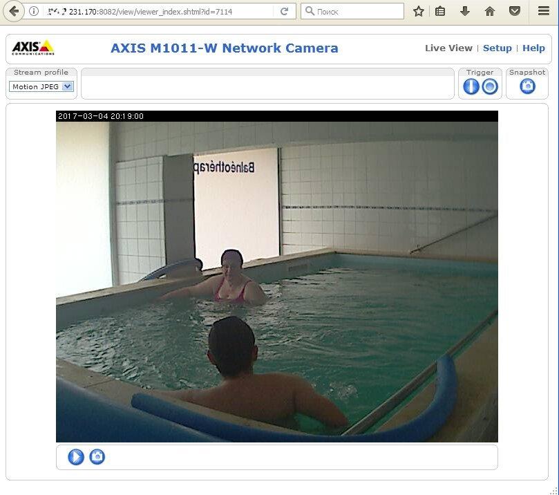 Подглядывание за чужой веб камерой