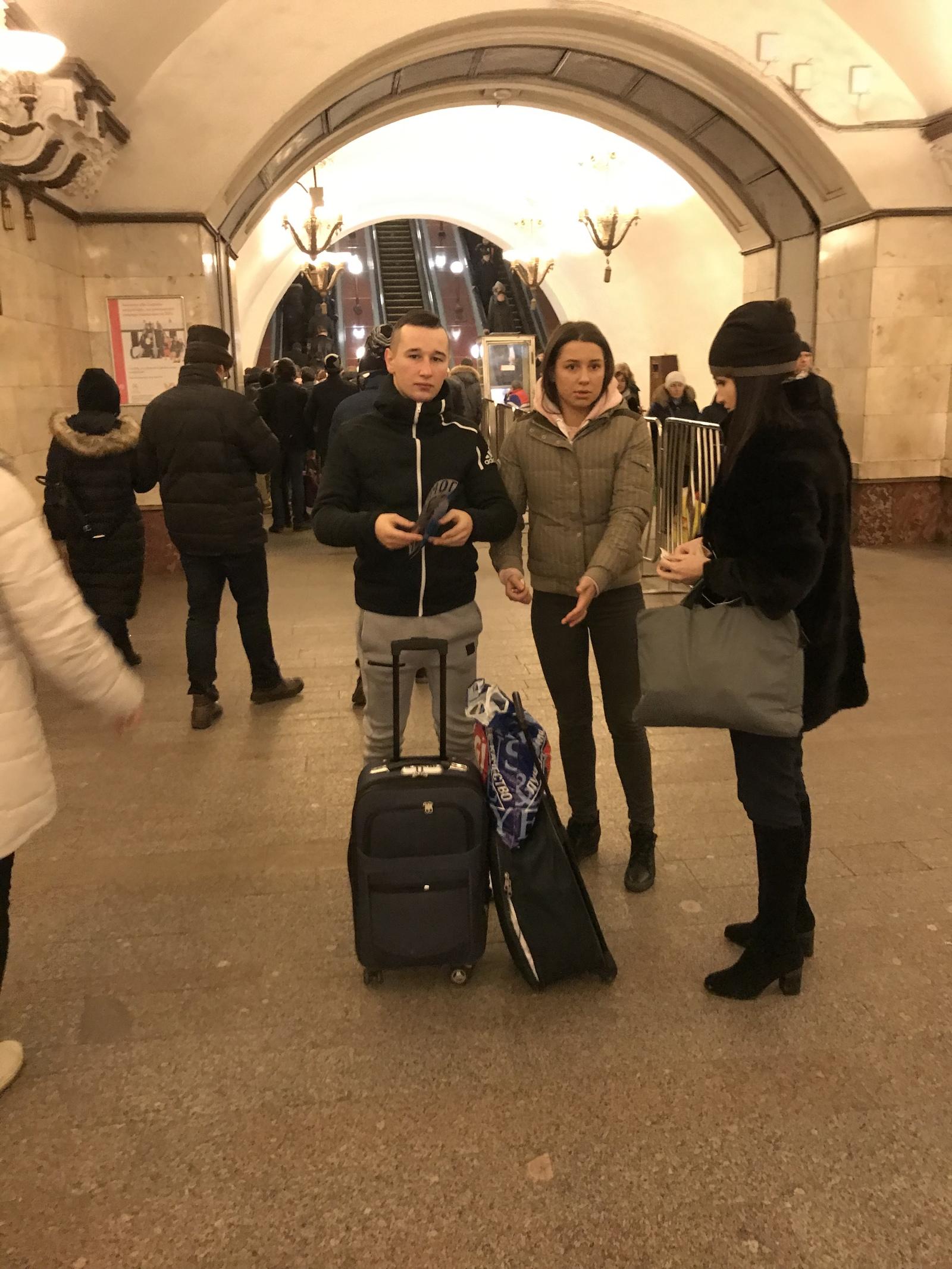 И пиздиться в метро