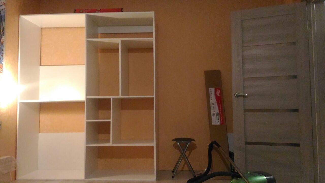 Как сделать встроенный шкаф своими руками фото 533