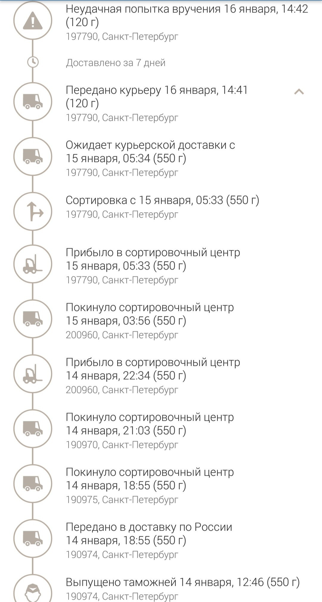 Проверка отправления почты россии по номеру