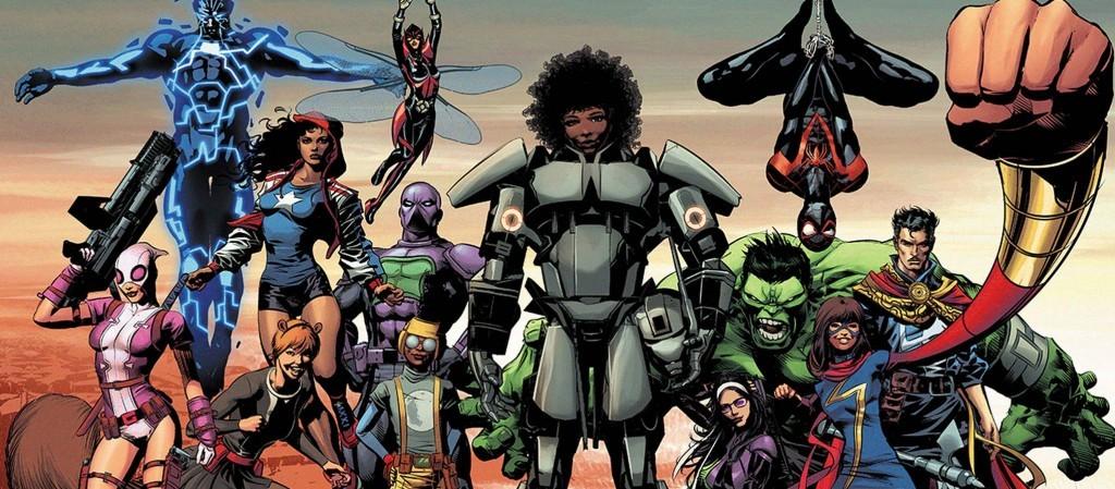 Почему Marvel заменяет своих белых супергероев «этническими» персонажами. d4cb43e155d35