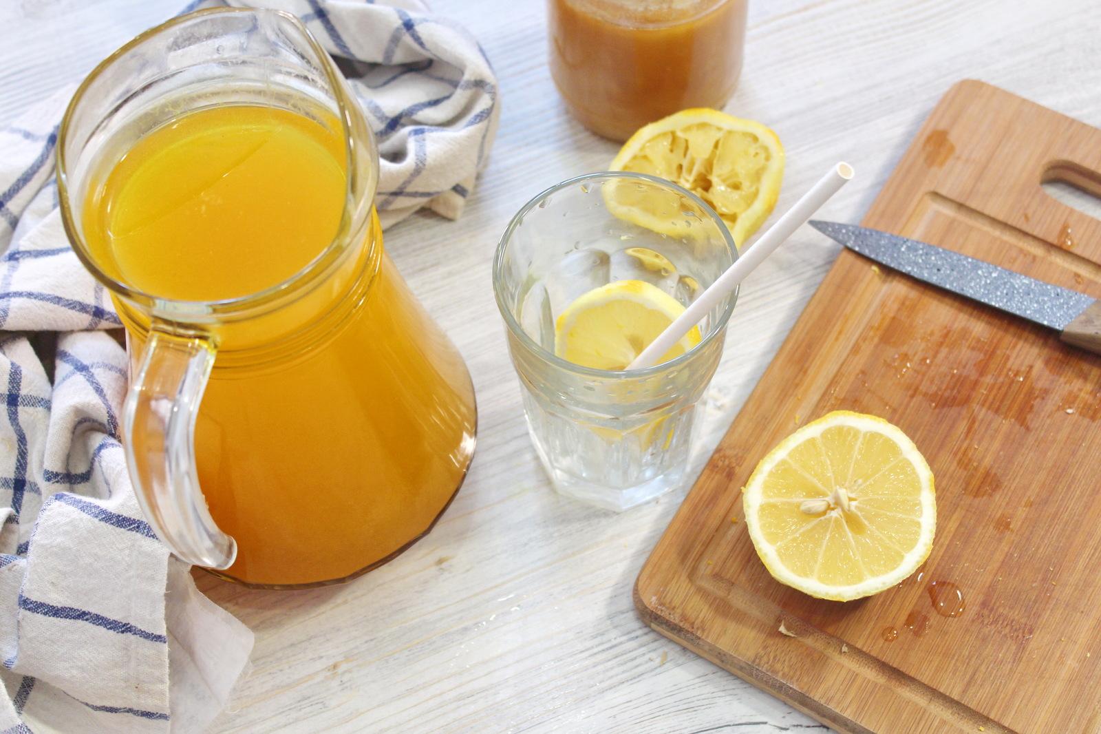 Напитки с имбирем похудения