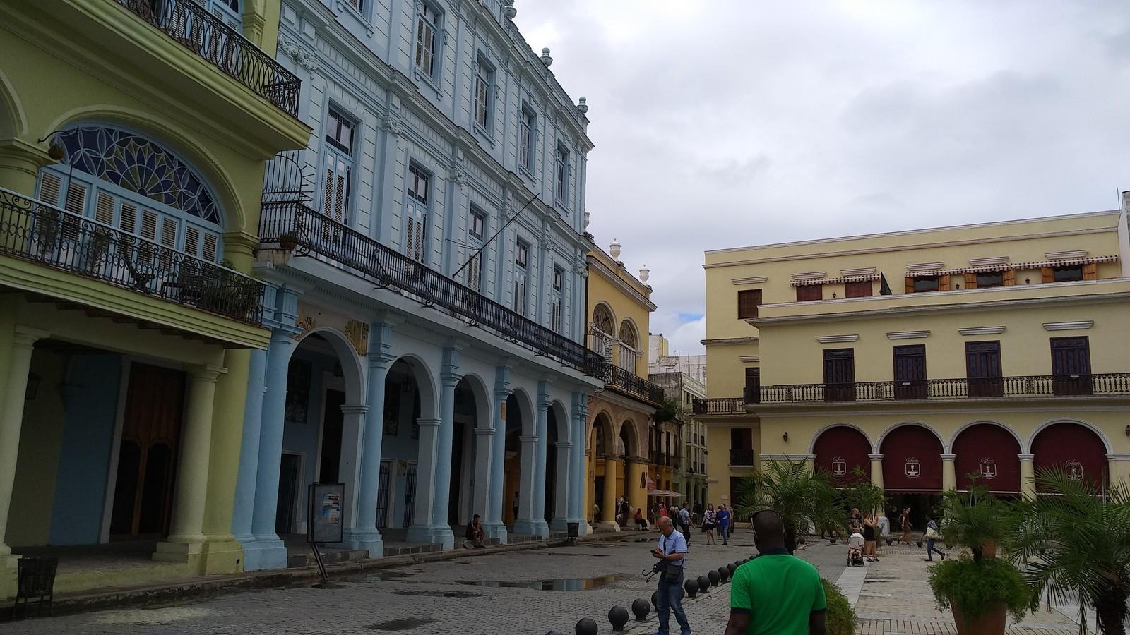 Обои куба, havana, ночь, Old Havana, Гавана. Города foto 18