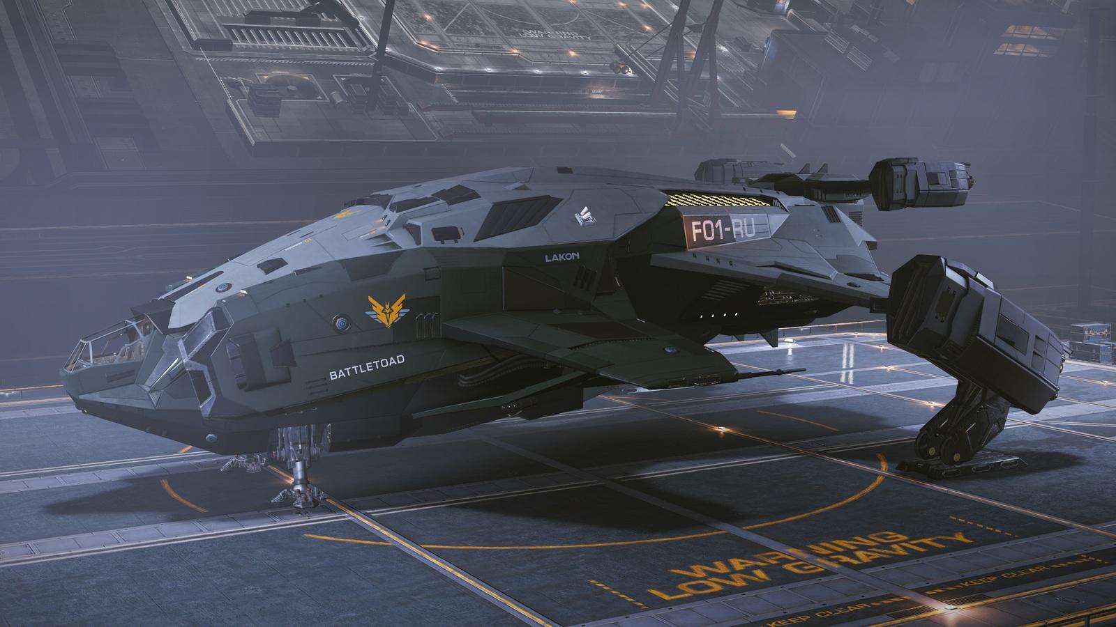 Мой корабельный парк в Elite
