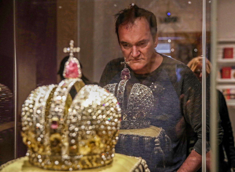 Квентин Тарантино в Кремле. | Пикабу