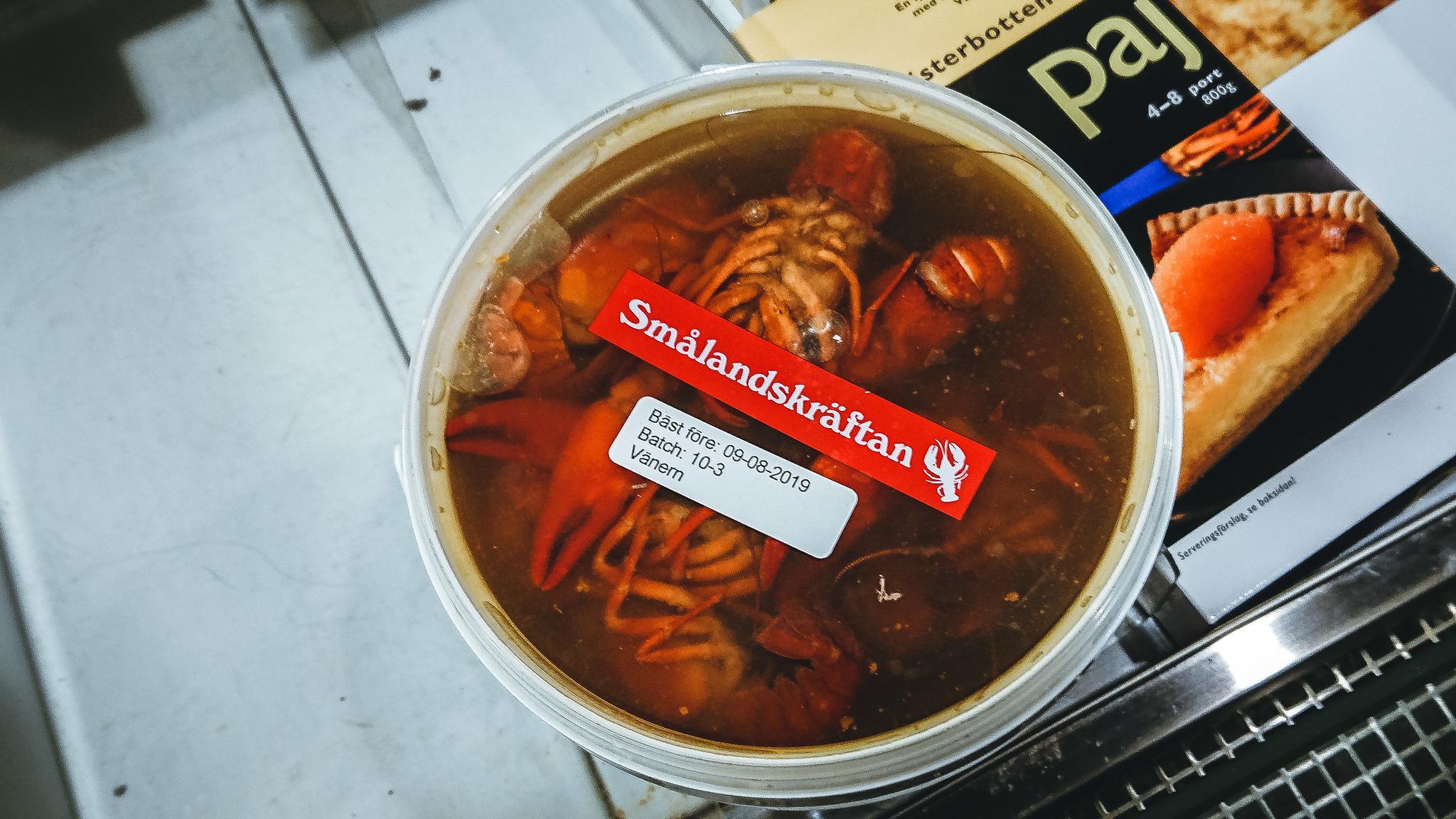 Чем питаются шведы