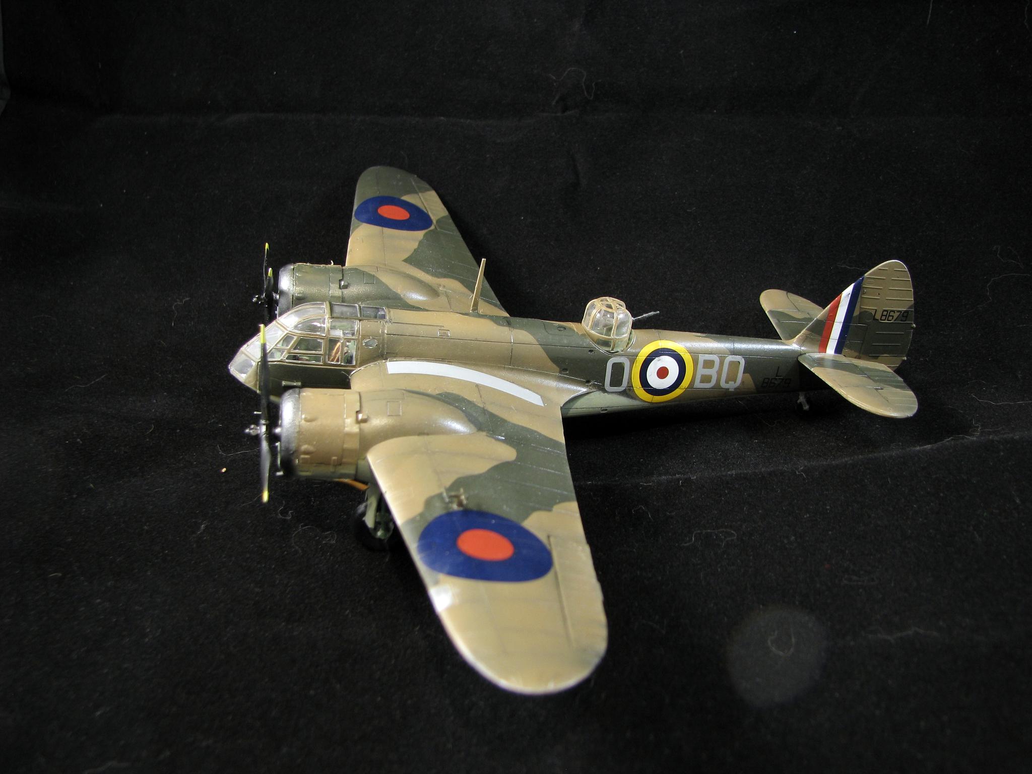 Обои 1937, скоростной, Bristol blenheim, бомбардировщик, лёгкий. Авиация foto 12