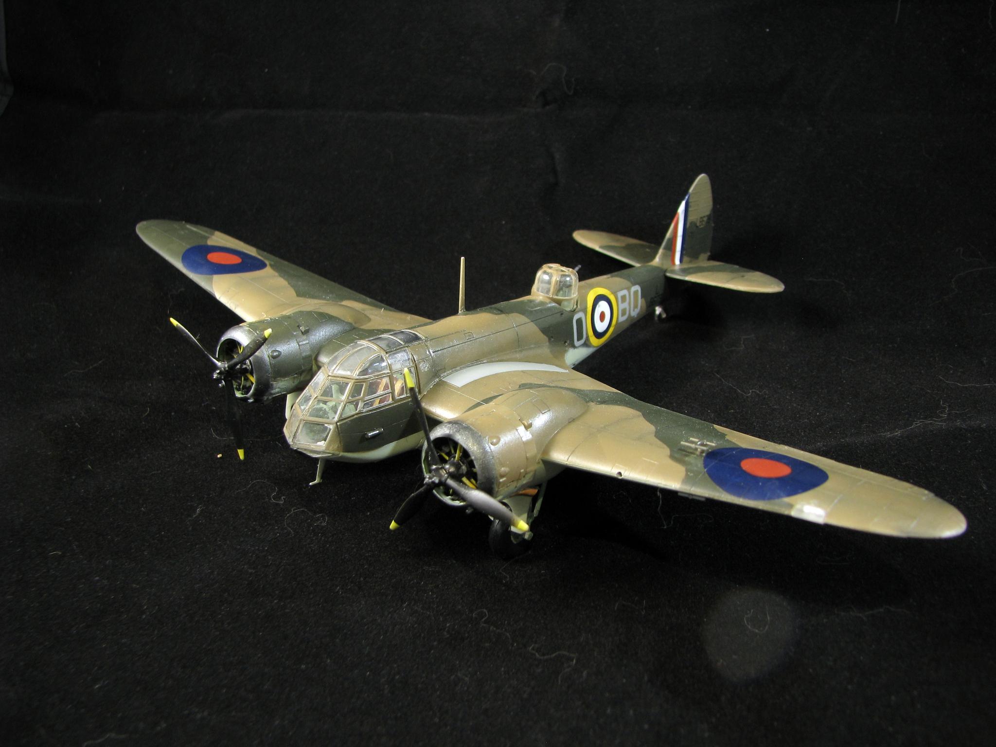 Обои 1937, скоростной, Bristol blenheim, бомбардировщик, лёгкий. Авиация foto 13