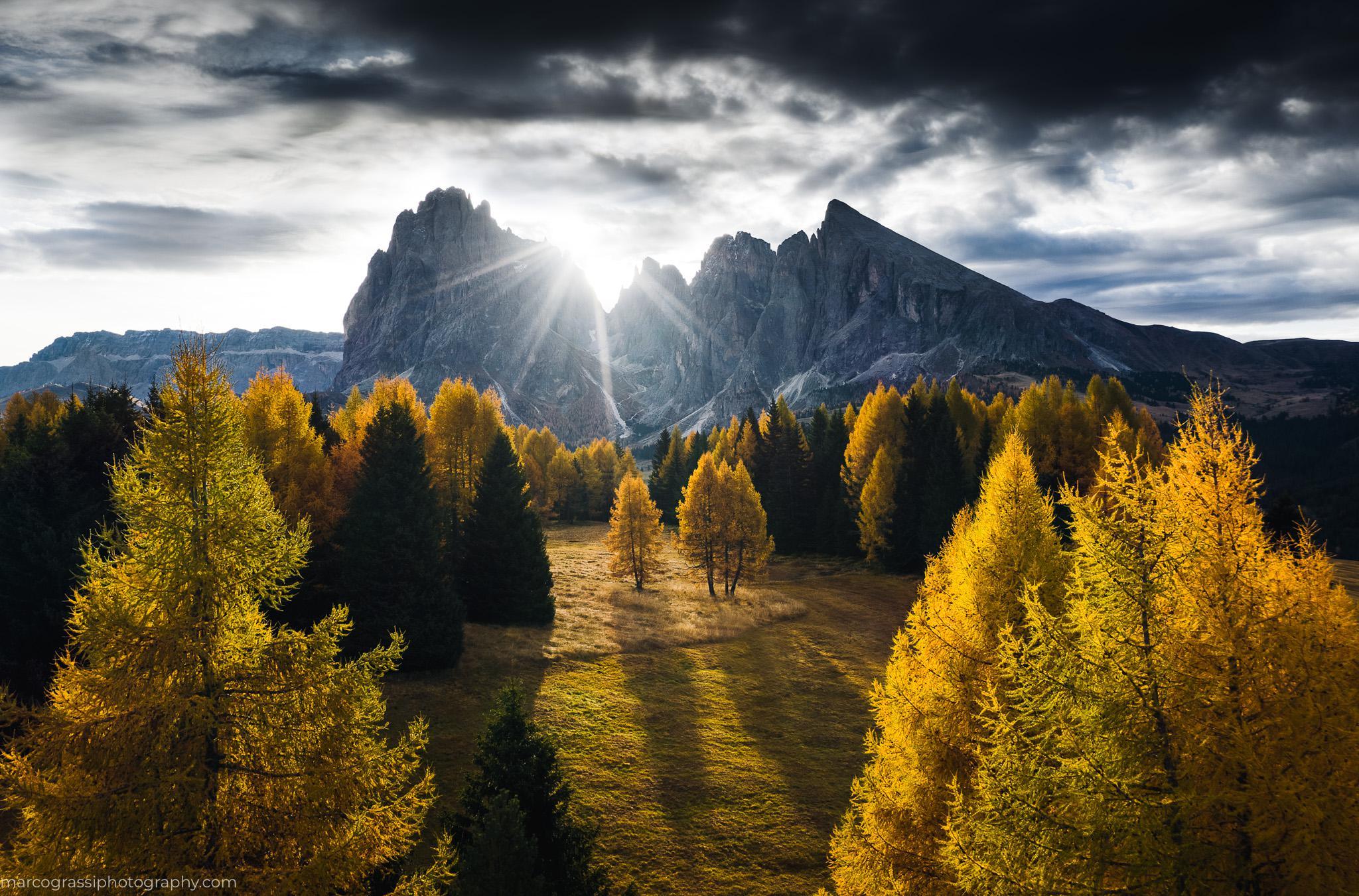 Обои Облака, hasliberg, швейцария, осень. Пейзажи