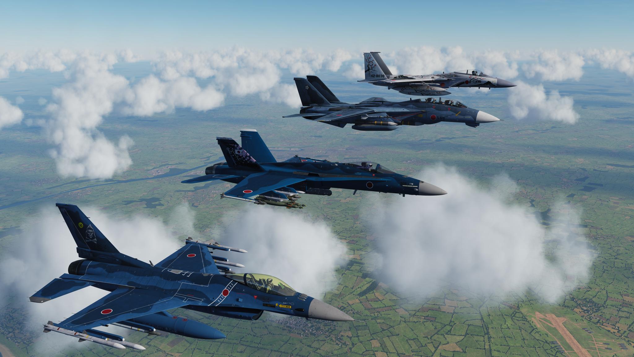 Обои Самолёт, f-15j. Авиация